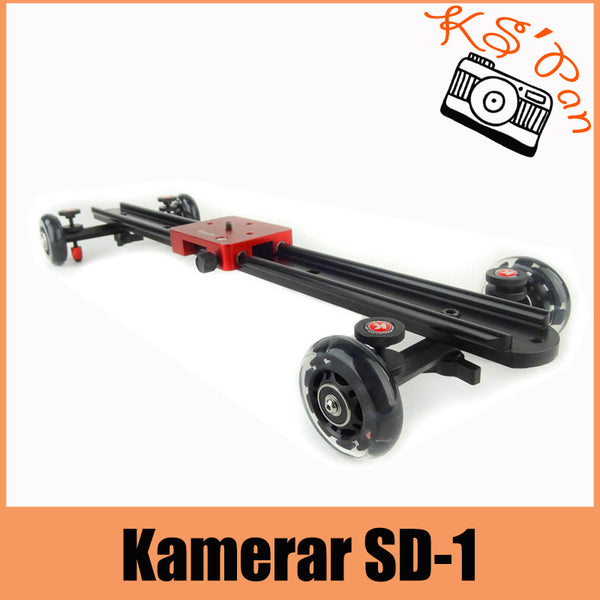 Kamerar SD-1 Slider Dolly Kamerar camera track Slider Dolly Car f. DSLR RIG camera Slider Dolly for shooting movie PING - Hespirides Gifts