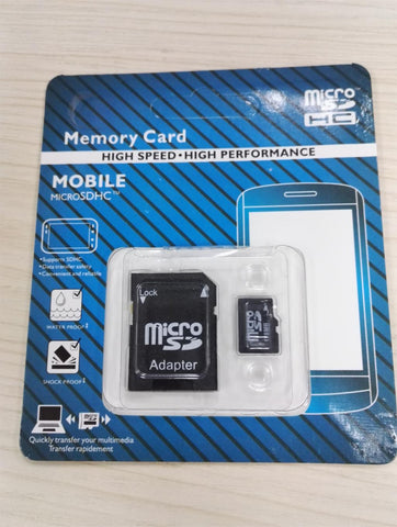 HOT Sale 128mb~ 128GB micro sd card TF card Memory cards for cell phone with adapter Real capacity for smart phone - Hespirides Gifts