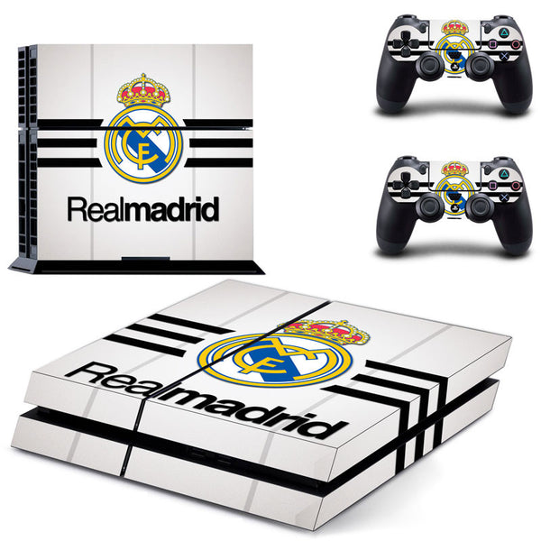 New Arrival FOOTBALL CLUB Design PS4 Skin Stickers Vinyl Decal For Playtation 4 +2 Controllers Skin - Hespirides Gifts
