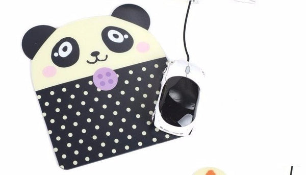 Cartoons Mouse Pad Portable Korea Stationery Cute Creative Cartoon Panda Bear Little Animal Shapes Personalized - Hespirides Gifts - 5