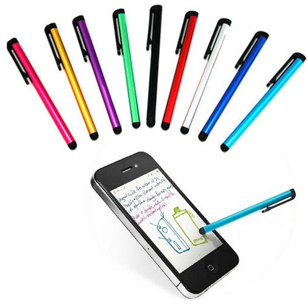 Touch Screen Stylus Pen Pro Fine Point Capacitive Pen Metal Tubes For iPhone Tablet PC Handwriting - Hespirides Gifts