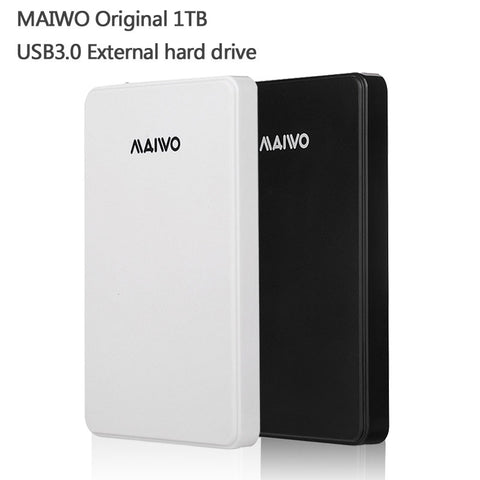 MAIWO Original Portable HDD 1000G USB3.0 Storage External hard drive 1TB Desktop and Laptop Plug and Play - Hespirides Gifts