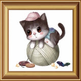New Arrival! 3d Diamond Painting Animals Icon Embroidery Mosaic Handmade Set Of Cartoon For Home Decoration Cat DW190 - Hespirides Gifts - 12