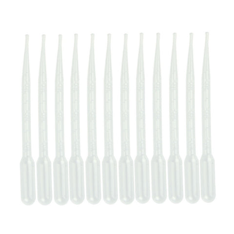 Voberry Plastic Transfer Pipettes 3ml - 12pcs quality first 42UY - Hespirides Gifts
