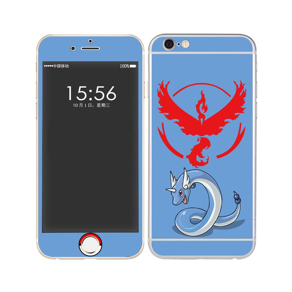 Full Body Sticker Fashion Magic Body Gradient Protective Film For iPhone 6 /6S 6 /6S Plus 5 /5S Galaxy S6 Edge--For Pokemon Go - Hespirides Gifts - 22