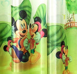 Children double printed 2 meters height short window Curtains finished custom window curtain - Hespirides Gifts - 3
