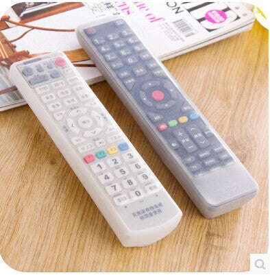 Household air-conditioned TV remote control sets of silicone protective cover and dust jacket waterproof 25g - Hespirides Gifts