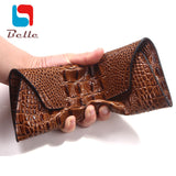 Genuine leather bag high quality crocodile pattern women wallets fashion purse famous brand evening clutch bag dollar price A380 - Hespirides Gifts - 1