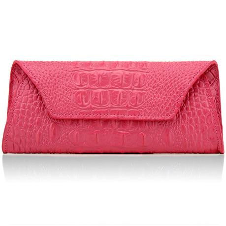 Genuine leather bag high quality crocodile pattern women wallets fashion purse famous brand evening clutch bag dollar price A380 - Hespirides Gifts - 7