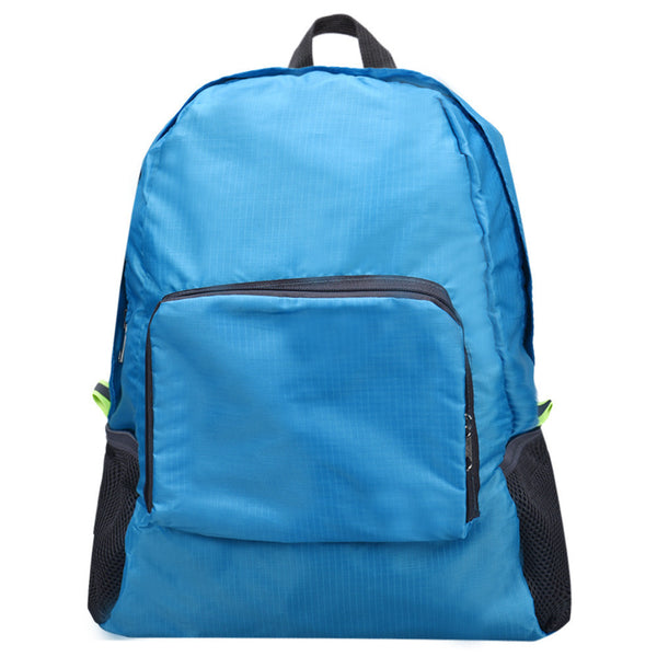 New brand Top Folding Nylon Shoulder Bag Female Outdoor Backpack for women travel bags Blue Green Hot Pink Gray - Hespirides Gifts - 2