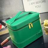 Fashion High-grade Makeup Cosmetic Bag Compartment Large Cosmetics Box Storage Bag Setting Special Offer with Interlayer - Hespirides Gifts - 9