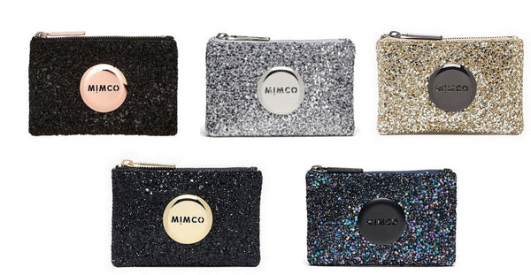 WITH DEFECT MIMCO SPARKS SMALL POUCH 5 COLOR COMBO SALE - Hespirides Gifts