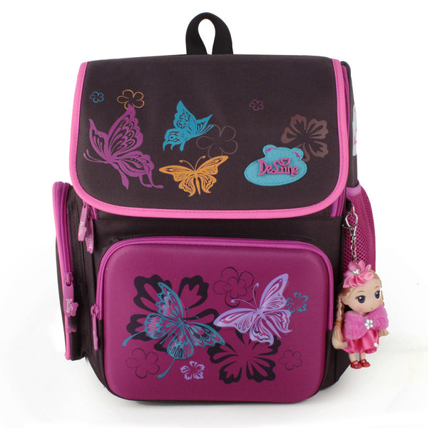 Cartoon Bear Butterfly Printing Kids Satchel Children School Bags Orthopedic Backpacks Durable School Backpacks Mochila Escolar - Hespirides Gifts - 4