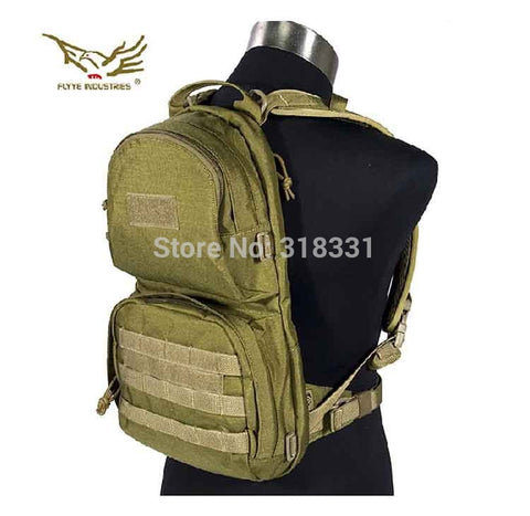 Genuine FLYYE H009 1000D CORDURA Waterproof Nylon Molle Hydration Backpack Outdoor Tactical Backpacks Military Army Bags - Hespirides Gifts - 1