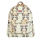 SUNVENO New Fashion Baby Diaper Nappy Bag Maternity Bag Backpack Eco-Friendly Waterproof Canvas Sweet Peas Flowers 4 Colors - Hespirides Gifts - 1