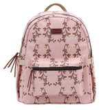 SUNVENO New Fashion Baby Diaper Nappy Bag Maternity Bag Backpack Eco-Friendly Waterproof Canvas Sweet Peas Flowers 4 Colors - Hespirides Gifts - 5