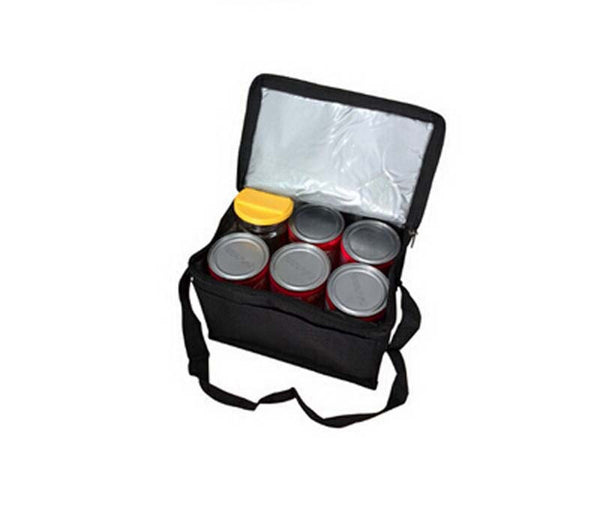 folding insulation lunch cold storage bag portable cooler bags polyester material 21*16*14 cm OS-ME-3 - Hespirides Gifts - 2