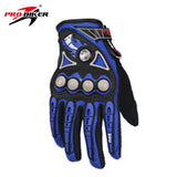 PRO-BIKER Motorcycle Racing Gloves Breathable Enduro Dirt Bike Moto Guantes Luvas Off Road Motocross Motorbike Riding Gloves - Hespirides Gifts - 4