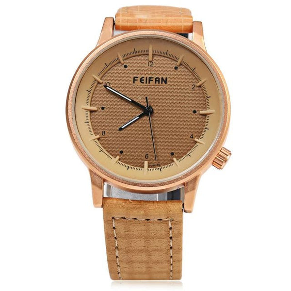 new arrived hot sales Simple fashion high quality women men Neutral Casual watch leather wristwatch - Hespirides Gifts - 5
