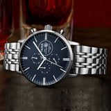 TEZER Watches Men Luxury Brand Sports Full Steel High Hardness Glass Wristwatches For Men Gent's Watch 100M Waterproof Watch - Hespirides Gifts - 5