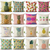 Flamingo Customized Cushion Covers Pineapple Flower Birds Custom Pillows Cover 20Styles Geometry Baby Sofa Decoration Gift - Hespirides Gifts - 1