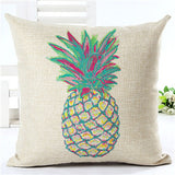 Flamingo Customized Cushion Covers Pineapple Flower Birds Custom Pillows Cover 20Styles Geometry Baby Sofa Decoration Gift - Hespirides Gifts - 9