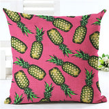 Flamingo Customized Cushion Covers Pineapple Flower Birds Custom Pillows Cover 20Styles Geometry Baby Sofa Decoration Gift - Hespirides Gifts - 16