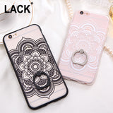 Fashion Sexy Lace Floral Case For iPhone 6 Case For iphone 6S 6 Plus Back Cover Retro Flowers Ring holder Stand Phone Cases HOT! - Hespirides Gifts - 1