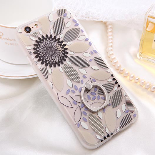 Fashion Sexy Lace Floral Case For iPhone 6 Case For iphone 6S 6 Plus Back Cover Retro Flowers Ring holder Stand Phone Cases HOT! - Hespirides Gifts - 6