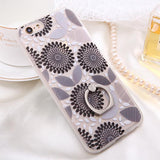 Fashion Sexy Lace Floral Case For iPhone 6 Case For iphone 6S 6 Plus Back Cover Retro Flowers Ring holder Stand Phone Cases HOT! - Hespirides Gifts - 7