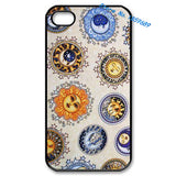 Sun And Moon Celestial fashion cover case for iphone 4 4s 5 5s 5c for 6 & 6 plus - Hespirides Gifts - 1