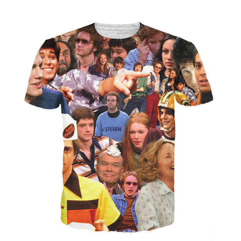 Raisevern New Fashion 3D T Shirts That 70s Show T-Shirt Round Neck Camisetas Short Sleeve Summer Style Tee Tops Plus Size XXL - Hespirides Gifts