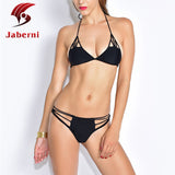 Micro Bikini Hot Sexy Swimwear Mini Top Thong Bottom Women Swimsuit Halter Brazilian Bikini Set Bandage Maillot De Bain - Hespirides Gifts - 1