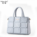 Woman Brand Retro Joker Satchels Handbags Ladies Candy Colors Pink/white Handbags PU Leather Big Totes Bags 11 Colors - Hespirides Gifts - 7