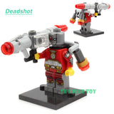 Minifigures DC Marvel Super Hero Avengers Suicide Squad Joker Harley quinn Deadshot  Batman Building Blocks compatible with lego - Hespirides Gifts - 3