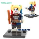 Minifigures DC Marvel Super Hero Avengers Suicide Squad Joker Harley quinn Deadshot  Batman Building Blocks compatible with lego - Hespirides Gifts - 13