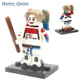 Minifigures DC Marvel Super Hero Avengers Suicide Squad Joker Harley quinn Deadshot  Batman Building Blocks compatible with lego - Hespirides Gifts - 6