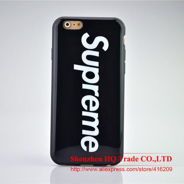 Supreme Soft TPU Cover Cases For iphone5 5s SE 6 6s 6Plus 6s Plus Phone Cases - Hespirides Gifts - 4