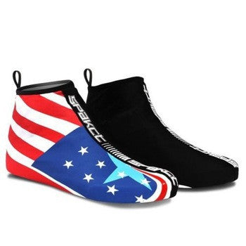 Fashion American Flag Style Winter Windproof Bicycle Cycling Shoe Covers Elastic Fabric - Hespirides Gifts