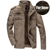 Men Military Army jackets plus size 6XL Brand Hot cost outerwear sports embroidery mens jacket for aeronautica militare - Hespirides Gifts - 5