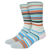 Miss Fire Stanced Girls Socks Nylon Cotton Thin Summer Miea Colorful Strip Candy Color Socks For Men And Women - Hespirides Gifts - 7