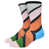 Miss Fire Stanced Girls Socks Nylon Cotton Thin Summer Miea Colorful Strip Candy Color Socks For Men And Women - Hespirides Gifts - 9