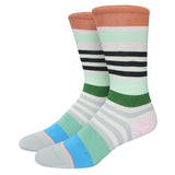 Miss Fire Stanced Girls Socks Nylon Cotton Thin Summer Miea Colorful Strip Candy Color Socks For Men And Women - Hespirides Gifts - 3
