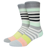 Miss Fire Stanced Girls Socks Nylon Cotton Thin Summer Miea Colorful Strip Candy Color Socks For Men And Women - Hespirides Gifts - 6