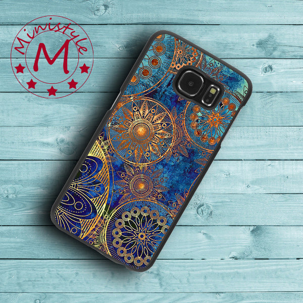Capa Top Fashion Mandala Case for Samsung Galaxy S3 S4 S5 S6 S7 Edge Plus Active S3 Mini S4 Mini S5 Mini Note 3 4 5 Case. - Hespirides Gifts