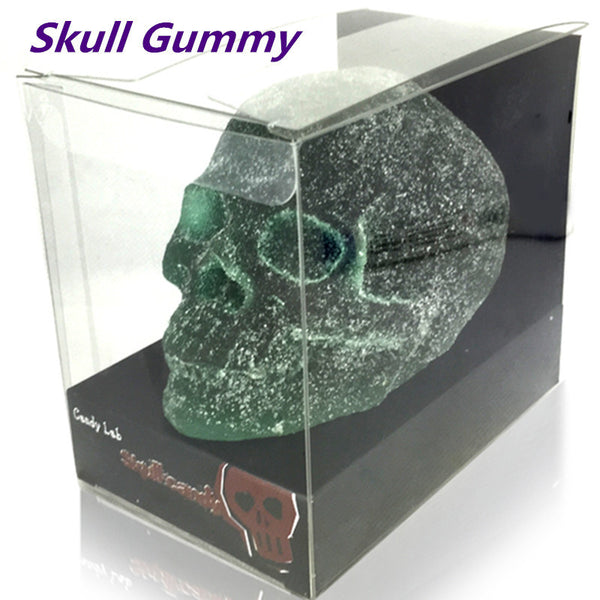 Halloween Soft Skull Candy Harry Potter Candy Fruit Gummy Chinese Food Sweets Gummy Skull 400g Funny Candy Spoof Candy - Hespirides Gifts