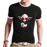 Fashion Star Wars t shirts Darth Vader T-Shirts Print Man Tees Cotton Short-sleeveClothing Top Quality Logo - Hespirides Gifts - 1