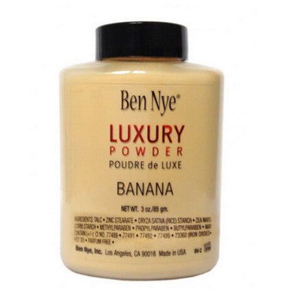 2016 Brand NEW Ben Nye LUXURY POWDER BANANA Foundation poudre 85gm./42gm Bottle Poudre de Luxe Loose Beauty Makeup highlighter - Hespirides Gifts - 6