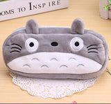Kawaii Cartoon Animal Large Capacity Plush Pencil Holder Storage Pouch Cosmetic Bag Promotional Gift Stationery - Hespirides Gifts - 11
