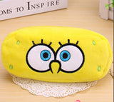 Kawaii Cartoon Animal Large Capacity Plush Pencil Holder Storage Pouch Cosmetic Bag Promotional Gift Stationery - Hespirides Gifts - 24